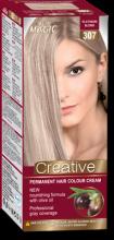 "Permanent Hair Colour Cream ""Miss Magic Creative"" - № 307 Platinum Blond"