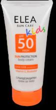 Sun Protection Body Cream for Children ELEA SPF 50 150 ml