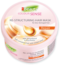 """Restructuring Mask for Dry/Damaged Hair Repair """"MM Beauty Colour Sense"""" 490 ml"""