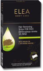"""Hair Removing Strips with Argan Oil FACE """"Elea"""""""