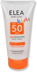 Sun Protection Body Cream for Children ELEA SPF 50 150 ml
