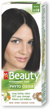 "Hair Colour ""MM Beauty"" 125 g - № M18 Black"