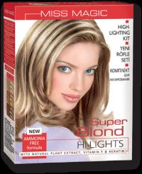 """Комплект за кичури Super Blond """"Miss Magic Highlights"""" 120 гр"""
