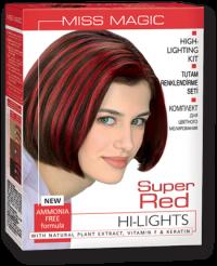 "Highlighting Kit Super Red ""Miss Magic Highlights"" 115 g"