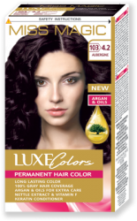 "Permanent Hair Colour ""Miss Magic Luxe Colors"" 108 g - № 103 (4.2) Aubergine"