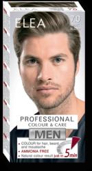Colour for Hair, Beard and Moustache ELEA for MEN 100 ml № 7.0 Dark Blond