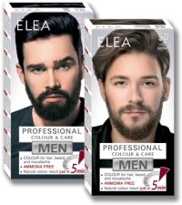 Colour for Hair, Beard and Moustache ELEA for MEN 100 ml